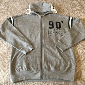Zara Full Zipper Hoodie Sweater Youth 13/14